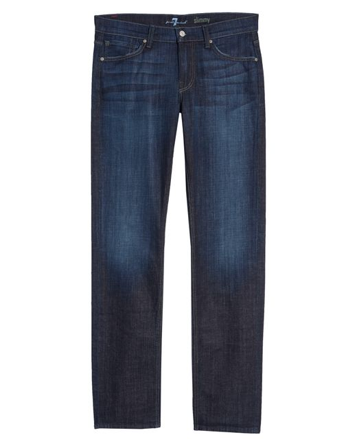 7 For All Mankind Blue 7 For All Mankind Slimmy Slim Fit Jeans for men