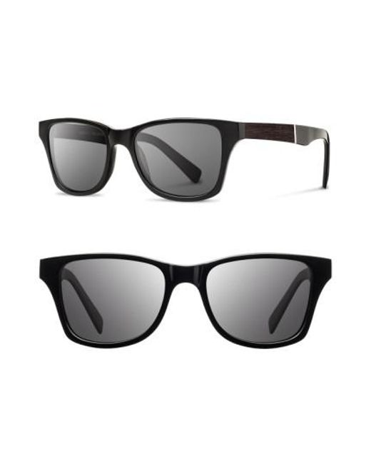 Shwood - Black 'canby' 53mm Wood Sunglasses for Men - Lyst