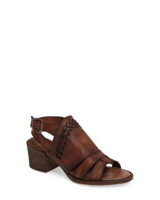 Matisse | Brown Jett Block Heel Sandal | Lyst