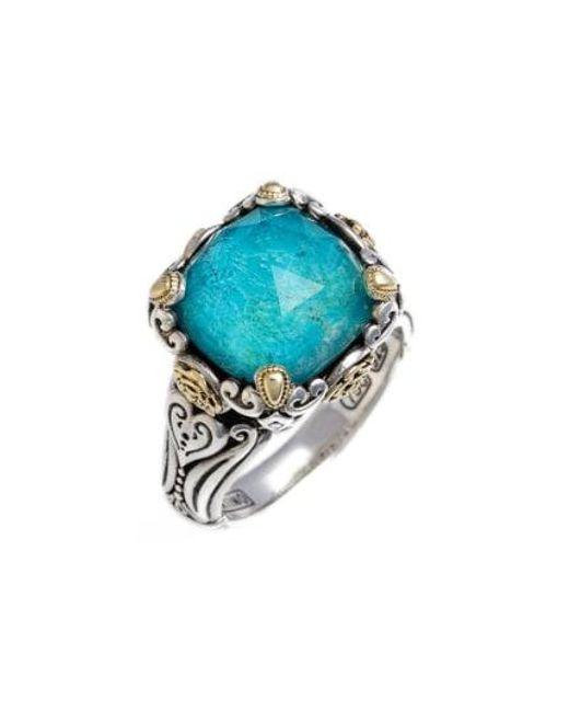Konstantino - Blue 'iliada' Doublet Ring - Lyst