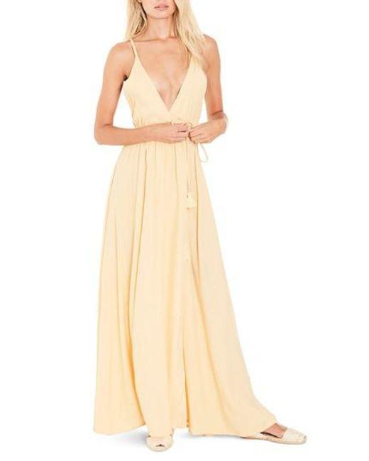 Lyst - Faithfull The Brand Santa Rose Strappy Maxi Dress