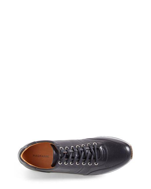Magnanni Shoes Black 'pueblo' Sneaker for men
