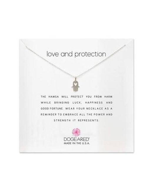 Dogeared | Metallic Love & Protection Pendant Necklace | Lyst