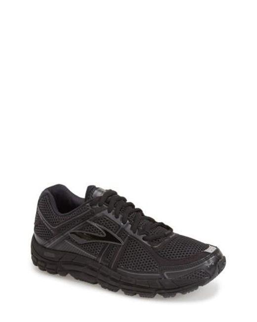 Brooks   Black 'addiction 12' Running Shoe for Men   Lyst