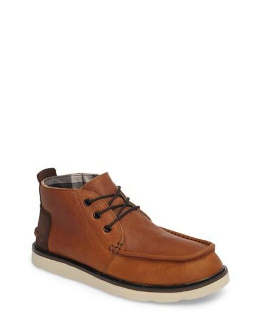 TOMS   Brown Chukka Boot for Men   Lyst