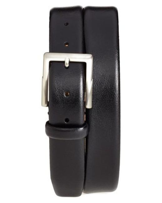 Trafalgar | Black 'rafferty' Leather Belt for Men | Lyst