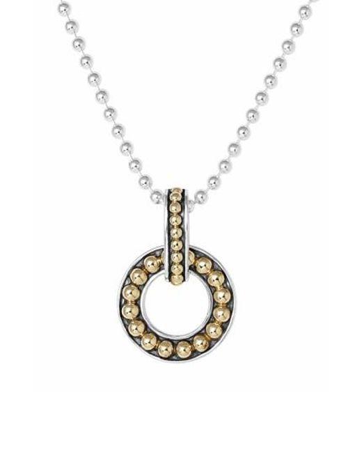 Lagos | Metallic 'enso' Pendant Necklace | Lyst