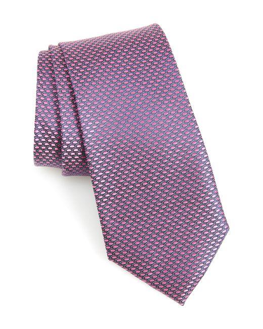Nordstrom Purple Soda Geometric Silk Tie for men