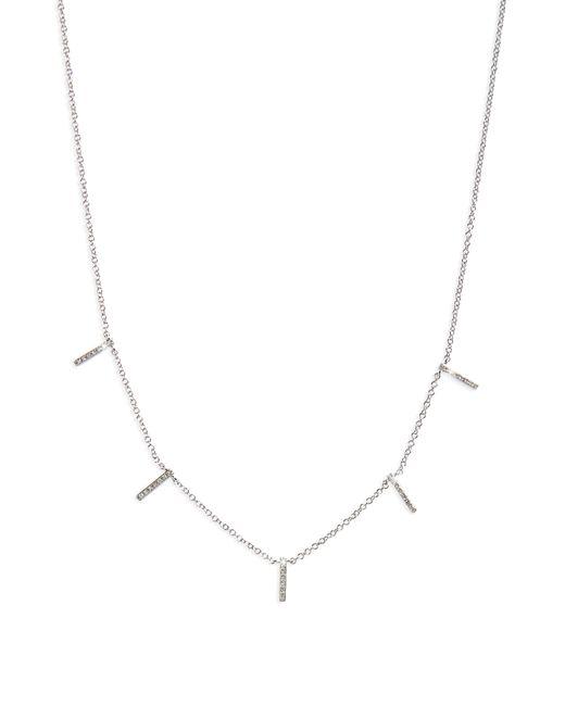 EF Collection - Metallic Diamond Collar Necklace - Lyst