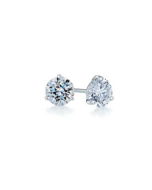 Kwiat | Metallic 0.50ct Tw Diamond & Platinum Stud Earrings | Lyst