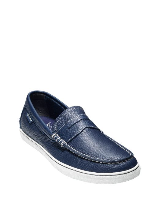 Cole Haan Gray 'pinch' Penny Loafer for men