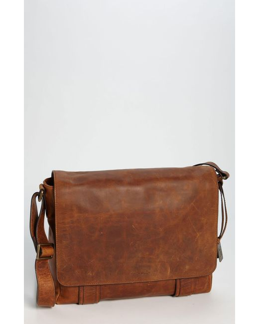 Frye Brown 'logan' Messenger Bag for men