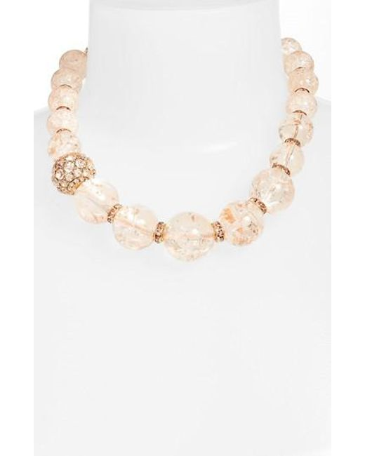 Kate Spade | Metallic True Colors Collar Necklace | Lyst