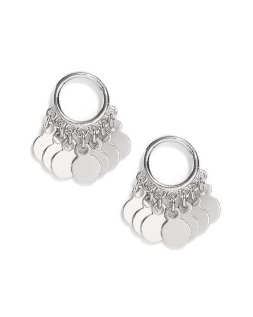 Argento Vivo | Metallic Vermeil Frontal Drop Earrings | Lyst