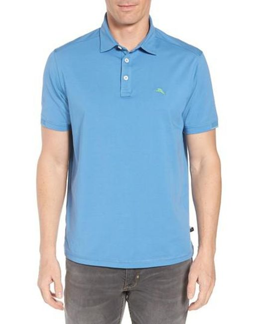 Tommy Bahama - Black Tropicool Spectator Polo for Men - Lyst