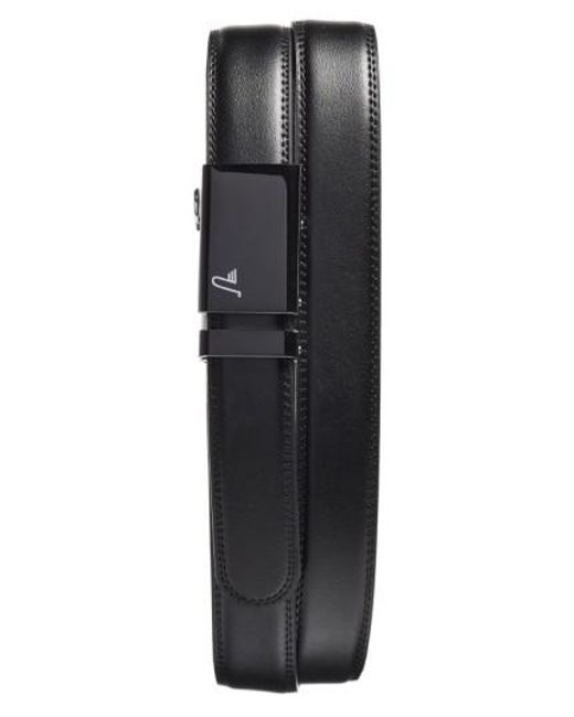 Mission Belt - Black 'vader' Leather Belt for Men - Lyst