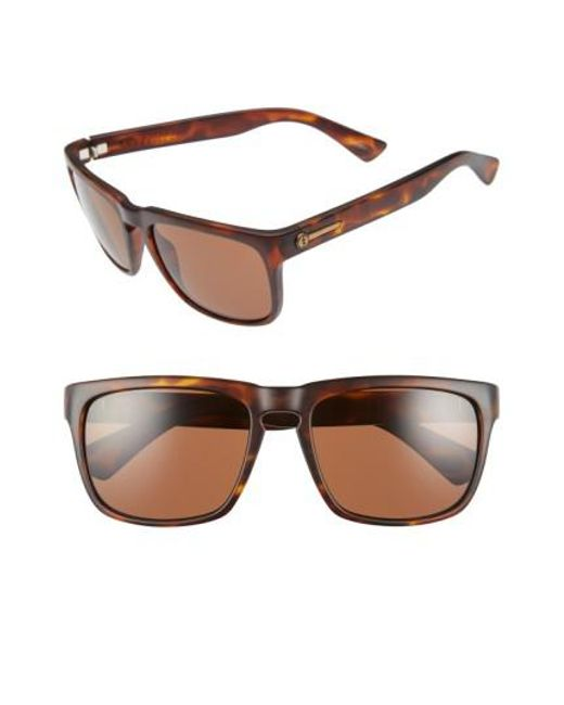 Electric | Brown 'knoxville' 56mm Sunglasses | Lyst