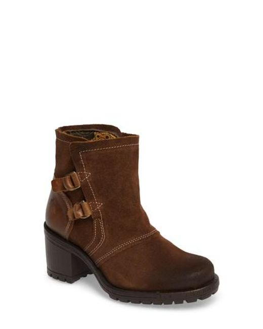 Fly London | Brown Lory Boot | Lyst