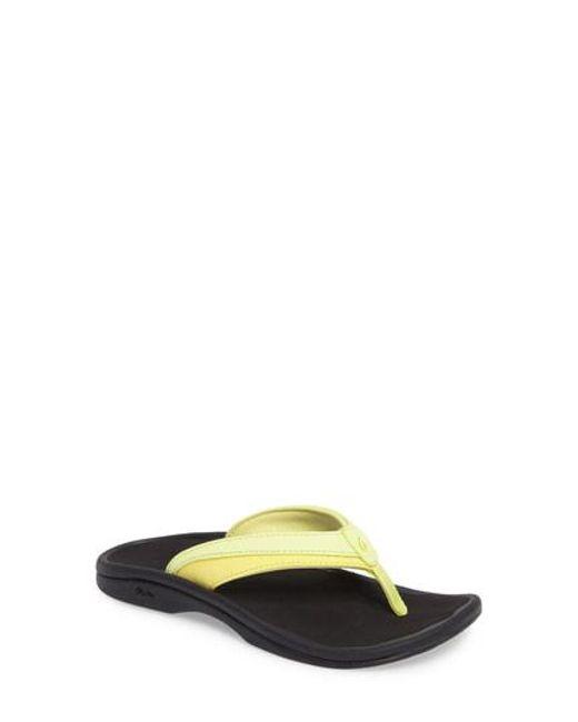 Olukai - Yellow Ohana Sandal - Lyst