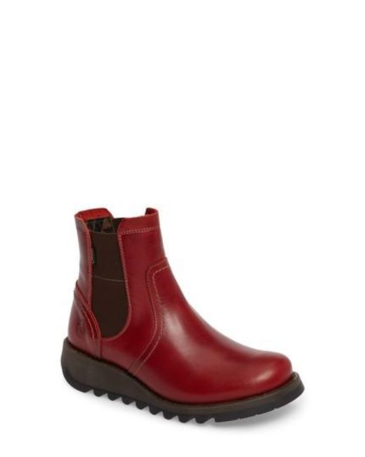 Fly London - Brown Scon Chelsea Boot - Lyst