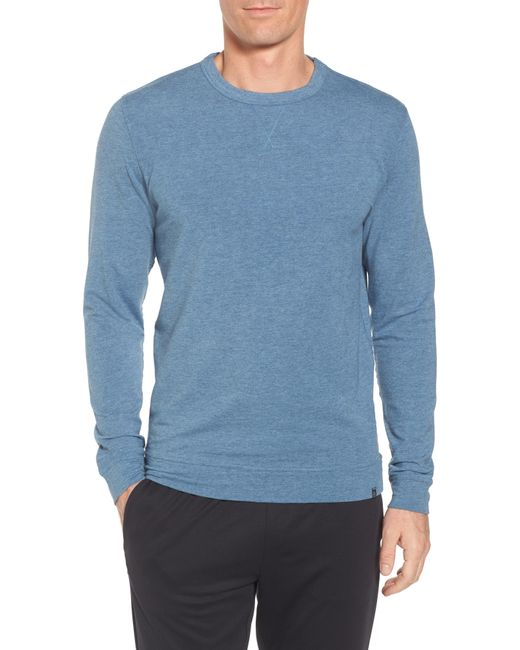 tasc Performance Blue Legacy Crewneck Sweatshirt for men
