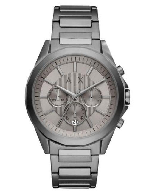 Armani Exchange - Gray Chronograph Bracelet Watch for Men - Lyst