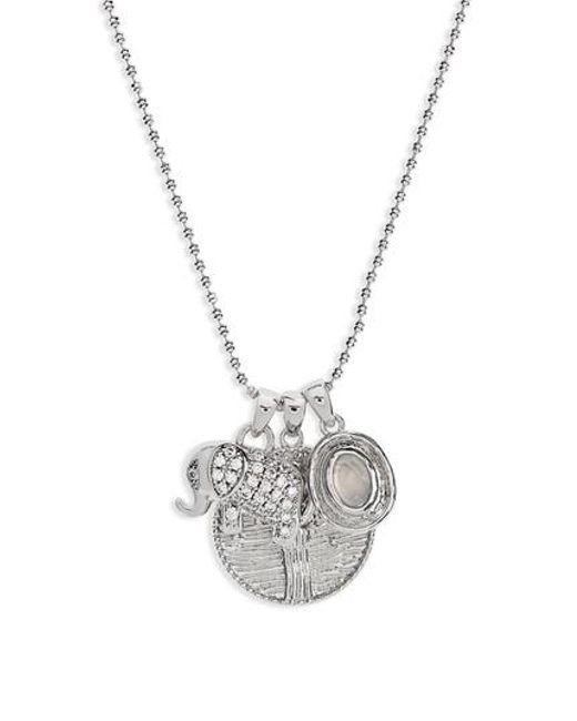 Melinda Maria | Metallic Goddess Pendant Necklace | Lyst
