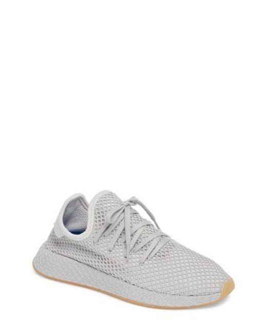 Adidas - Gray Deerupt Runner Sneaker - Lyst