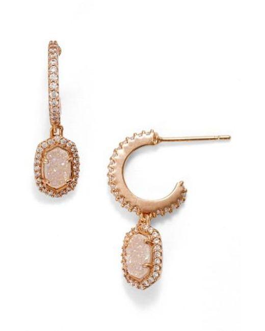 Kendra Scott   Metallic Cale Earrings   Lyst