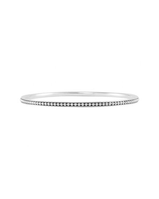 Lagos - Metallic Caviar(tm) Bangle - Lyst