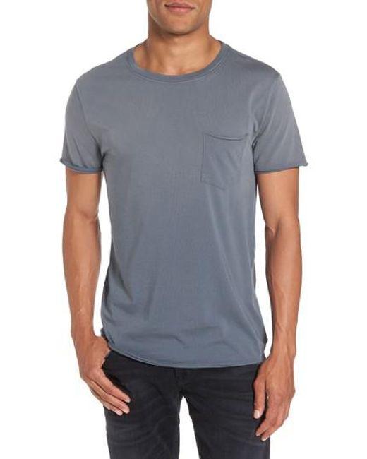AG Jeans   Blue Anders Slim Fit Pocket T-shirt for Men   Lyst