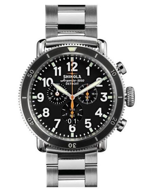 Shinola | Metallic 'the Runwell Chrono' Bracelet Watch | Lyst