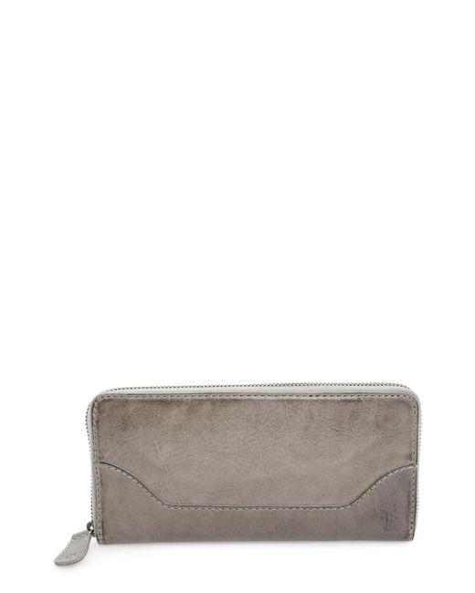 Frye - Brown Melissa Leather Wallet - - Lyst