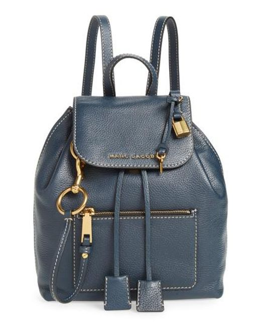 Marc Jacobs - Blue The Bold Grind Leather Backpack - Lyst