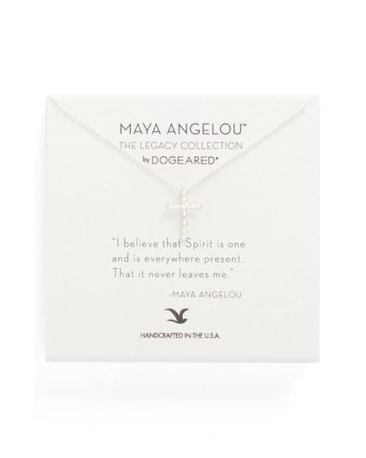 Dogeared   Metallic The Legacy Collection - I Believe That Spirit Is. Pendant Necklace   Lyst