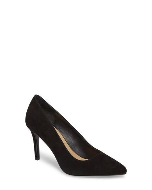Chinese Laundry | Black Ruthy Pointy Toe Pump | Lyst