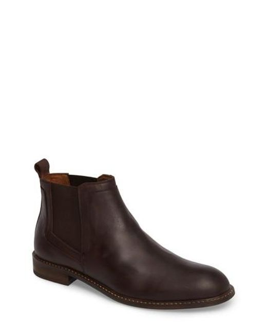 Kenneth Cole   Brown Chlesea Boot for Men   Lyst