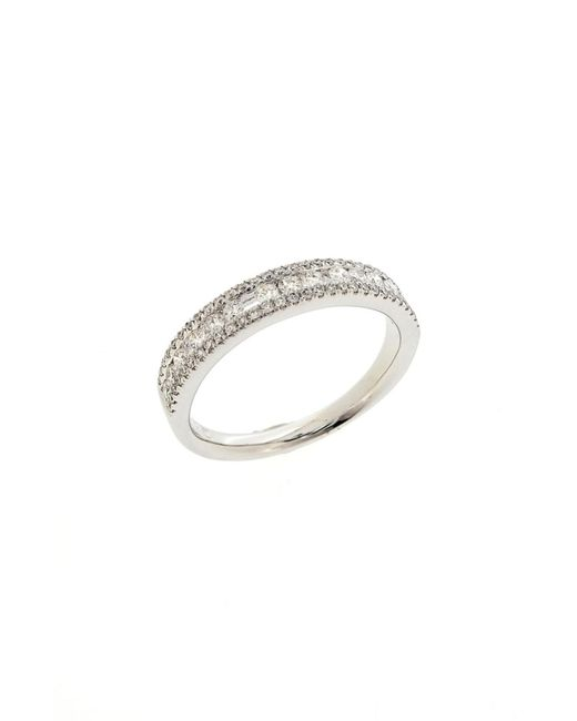 Bony Levy - Metallic Amara Luxe Stackable Diamond Ring (nordstrom Exclusive) - Lyst