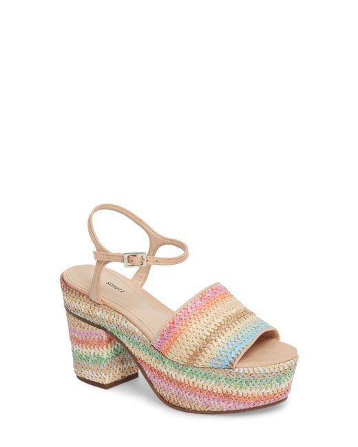 Schutz - Multicolor Ziquiele Platform Sandal - Lyst