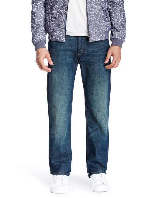 Levi's | Blue Levi's '519(tm)' Extreme Skinny Fit Jeans for Men | Lyst