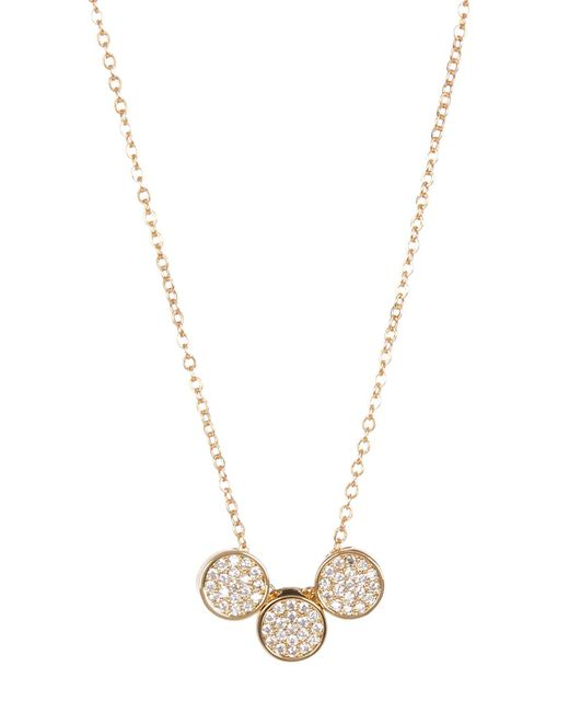 Carolee | Multicolor Round Pave Necklace | Lyst