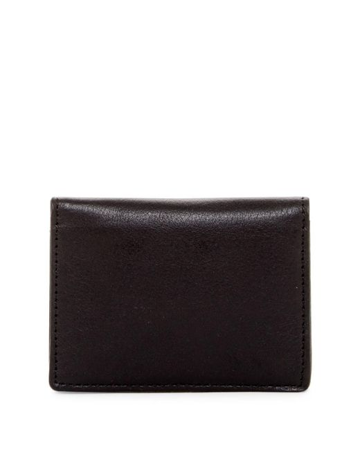 Will Leather Goods | Black Leather Cardfold for Men | Lyst