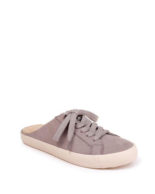 Splendid Gray Turner Leather Mule Sneaker