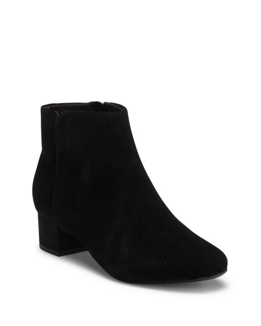 Clarks - Black Chartli Lilac Suede Boot - Wide Width Available - Lyst
