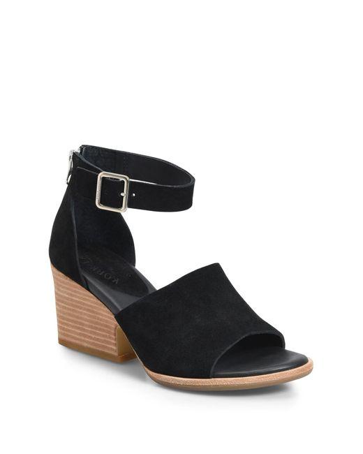 Kork-Ease Black Kork-ease Gazania Sandal