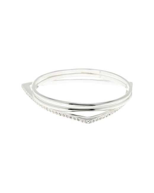 BCBGeneration | Metallic Crystal Detail Bangle - Set Of 3 | Lyst