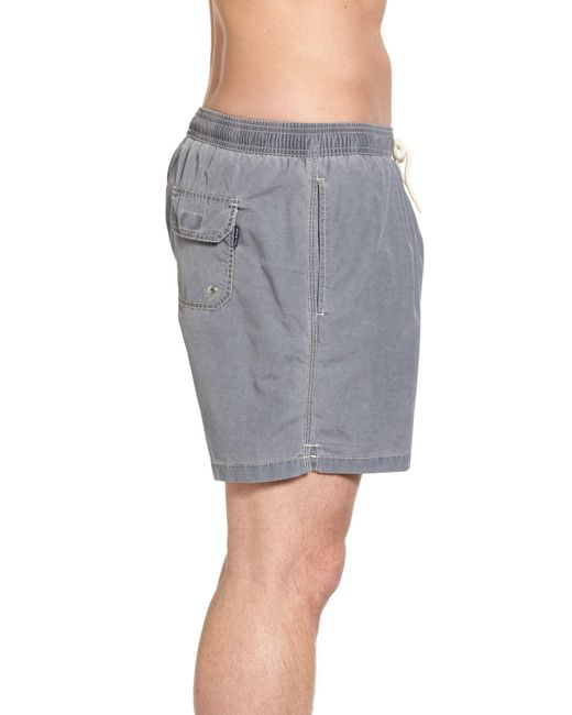 c185f69f583b4 Lyst - Barbour Victor Swim Trunks in Gray for Men - Save 23%