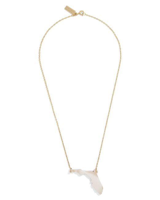 BaubleBar - Metallic Acrylic State Pendant Necklace - Lyst