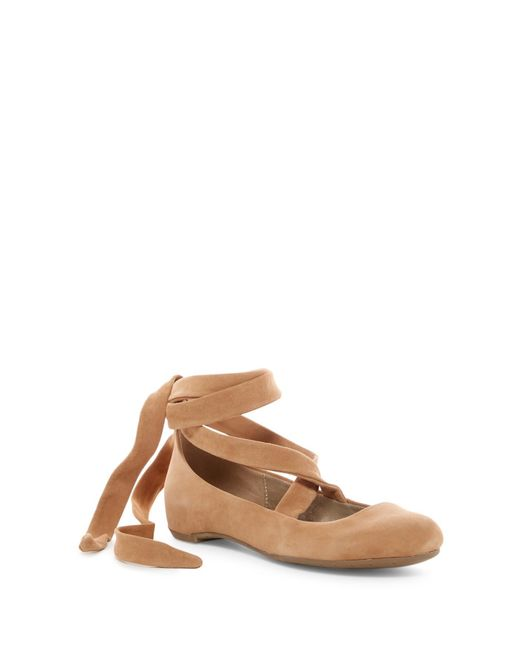 Kenneth Cole Reaction - Multicolor Pro-pose Ankle Lace Flat - Lyst