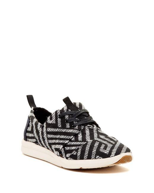 TOMS | Black Del Rey Sneaker | Lyst